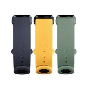 Mi Smart Band 5 Strap (3-Pack) Blue/Yellow/Mint
