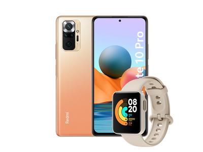 Smartfon Redmi Note 10 Pro 6+64GB Gradient Bronze