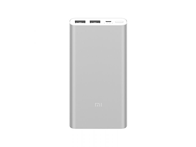 Xiaomi 10000mAh Mi Power Bank 2S Sliver
