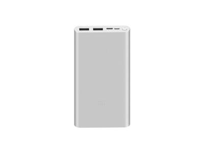Xiaomi 10000mAh Mi 18W Fast Charge Power Bank 3 Silver