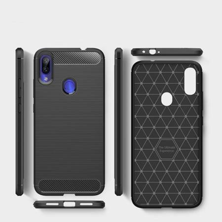 Etui ochronne Tech-Protect Carbon Xiaomi Redmi Note 8 Pro Black